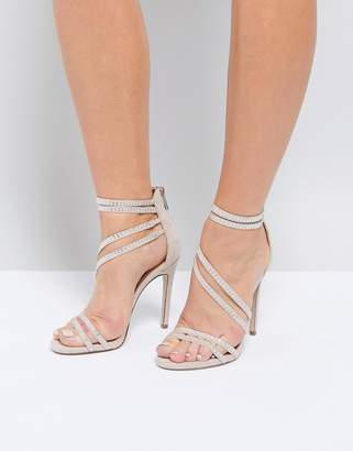 Miss KG Swirled Strappy Heeled Sandal