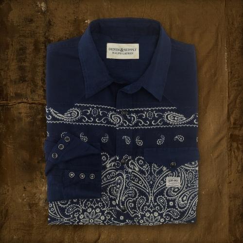 Denim & Supply Ralph Lauren Bandanna-Print Shirt