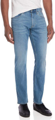 Calvin Klein Light Wash Straight Leg Jeans