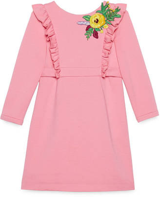 Children's embroidered jersey dress $635 thestylecure.com