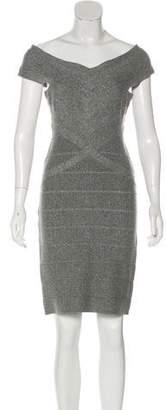 Herve Leger Bandage Cocktail Dress