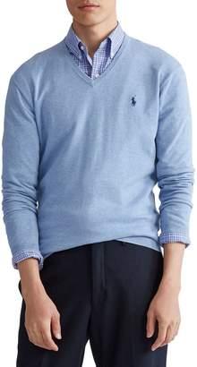 Polo Ralph Lauren Regular-Fit V-Neck Cotton Sweater
