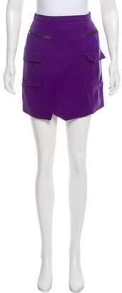 Under.ligne By Doo.ri Asymmetrical Mini Skirt