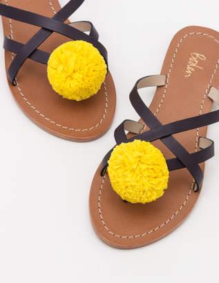 Boden Emma Pompom Sandals
