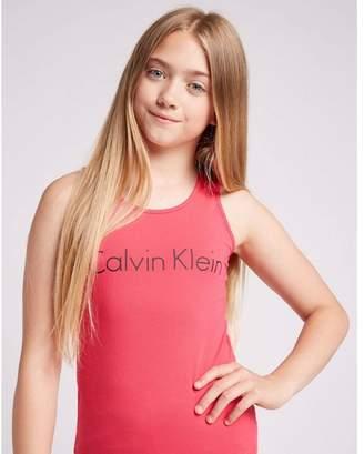 Calvin Klein Girls' 2 Pack Tank Tops Junior