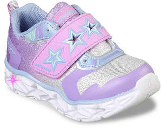 Skechers S Lights Galaxy Lights Cosmic Kicks Toddler Light-Up Sneaker - Girl's