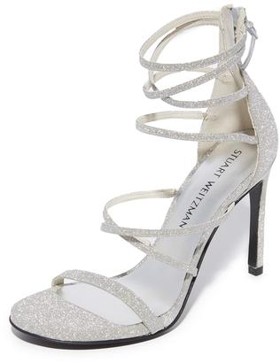 Stuart Weitzman Myex Sandals $455 thestylecure.com