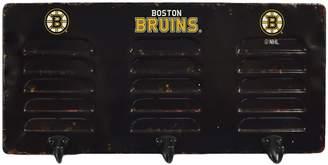 Boston Bruins 3-Hook Metal Locker Coat Rack