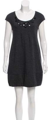 Vince Wool Embellished Dress
