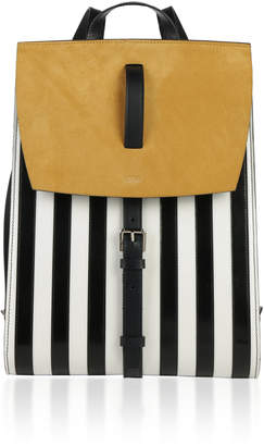 Bertoni Bertoni1949 Spazzolato Stripes Julia Backpack