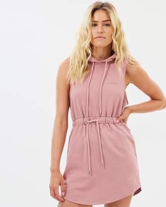 SikSilk Raw Hoodie Dress