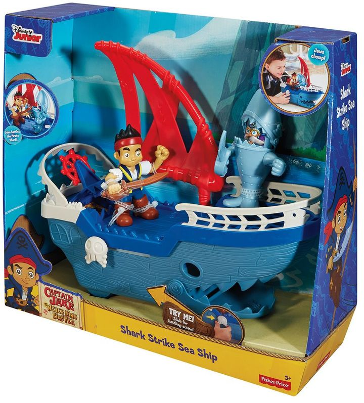 Fisher-price Disney's Jake and the Never Land Pirates Shark Ship by Fisher-Price