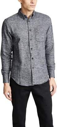 Naked & Famous Denim Brushed Melange Easy Shirt