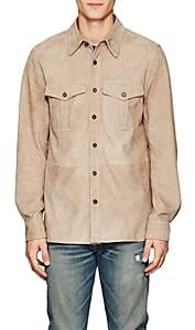 Ralph Lauren Black Label MEN'S BARRON SUEDE SHIRT JACKET