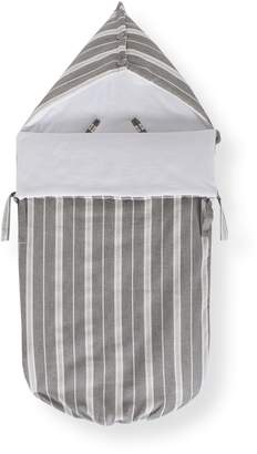 La Redoute Collections Striped Pushchair Footmuff, One Size