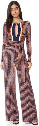 Diane von Furstenberg Starla Jumpsuit $698 thestylecure.com