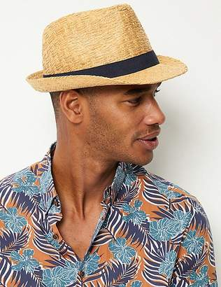 c495fcdf60521 Marks and Spencer Beach Trilby Hat