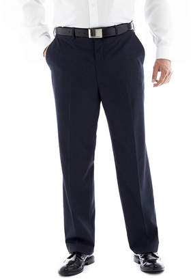 Jf J.Ferrar Men's JF End on End Flat-Front Big & Tall Suit Pants