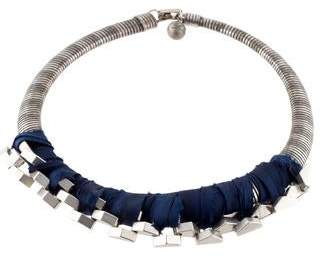 Lulu Frost Ribbon Collar Necklace