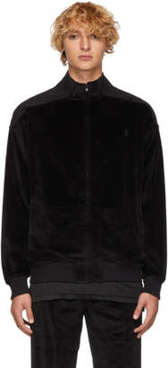 Opening Ceremony Black Velour Track Jacket