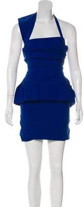 Preen by Thornton Bregazzi Mini Halter Dress