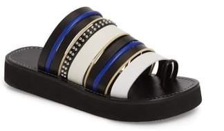 3.1 Phillip Lim Eva Strappy Toe Loop Sandal