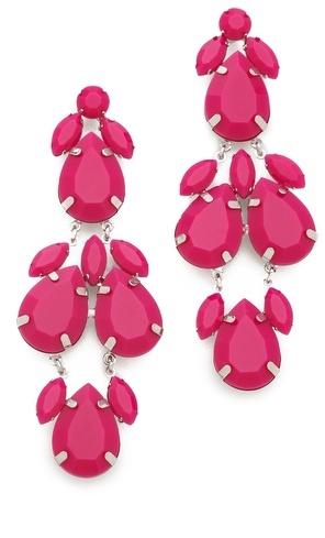 Juliet & Company Plume Noir Earrings