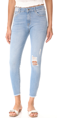 DL1961 Farrow Ankle Skinny Jeans $208 thestylecure.com