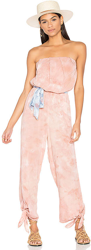 Free People Just Float One Piece in Blush