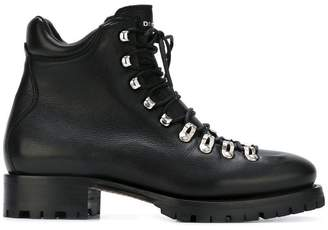 DSQUARED2 lace-up walking boots