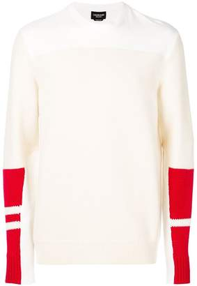 Calvin Klein colour-block jumper