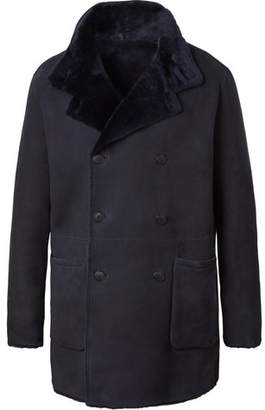 Giorgio Armani Reversible Shearling Coat