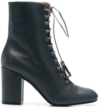 Pollini lace-up ankle boots