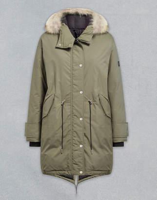 Belstaff Chantrey Down With Fur UK 12 /