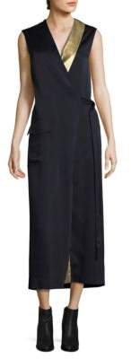 Each X Other Blazer Wrap Dress