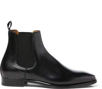 Ralph Lauren Galen Burnished Calfskin Boot