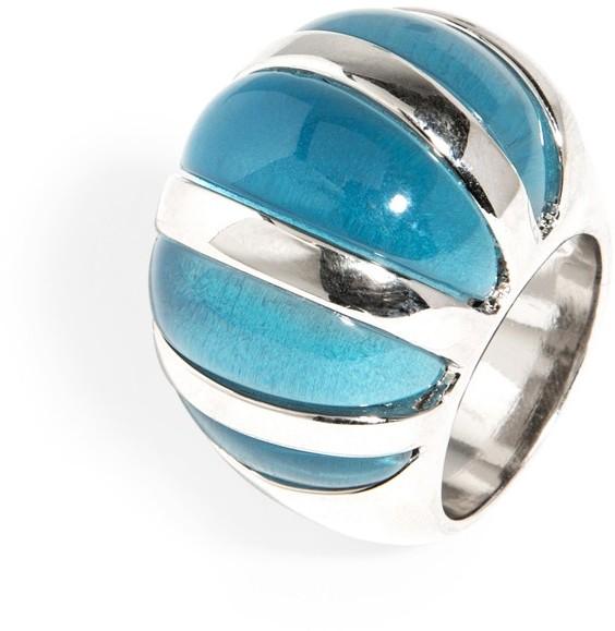 BaubleBar Cerulean Fan Ring