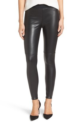 Women's Bailey 44 'Stevie' Faux Leather & Stretch Ponte Pants $176.25 thestylecure.com