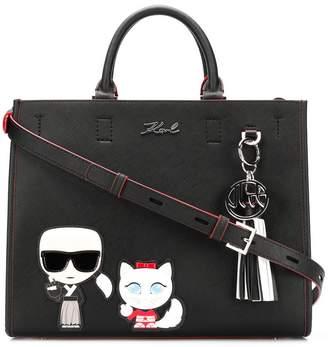 Karl Lagerfeld K/Tokyo Fun Shopper tote