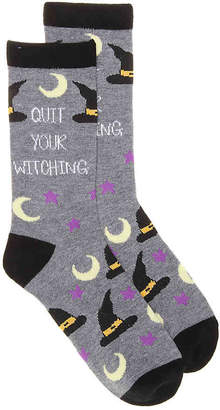 K. Bell Quit Your Witching Crew Socks - Women's