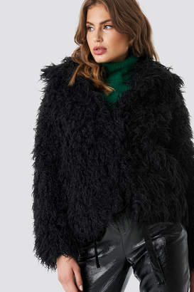 Na Kd Trend Faux Fur Short Jacket