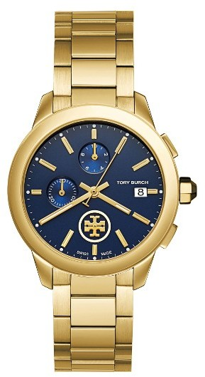 Tory Burch Women's Tory Burch Collins Chronograph Watch, 38Mm