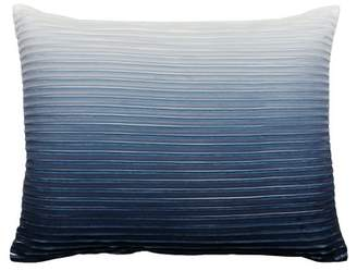 "Thro Home Indigo Hoss Ombre Pleated Throw Pillow - 14""x18\"""