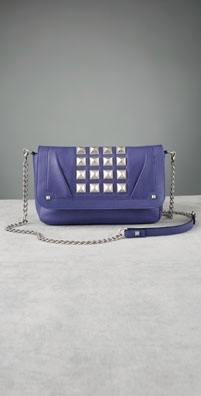 Malababa Oversized Cover Tapa Square Studded Clutch