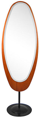 One Kings Lane Vintage Midcentury Italian Standing Floor Mirror - Acquisitions Gallerie