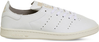 Adidas Stan Smith Lea Sock leather trainers $105 thestylecure.com