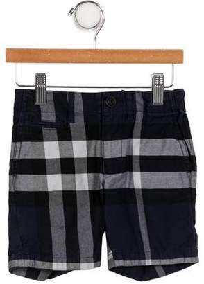 Burberry Boys' Nova Check Bermuda Shorts