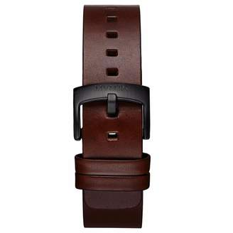 MVMT Mens Revolver Series20mm Brown Leather