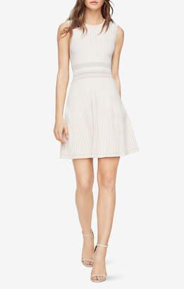 BCBGMAXAZRIA Wilma Knit Jacquard Dress