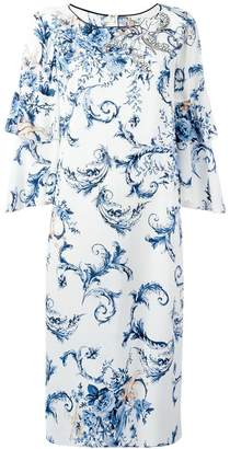 Antonio Marras ruffle sleeve dress